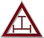 Royal Arch Masons Triangle and Triple Tau - Click to visit Chapters in Wisconsin