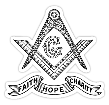 Square and Compasses - Faith Hope and Charity