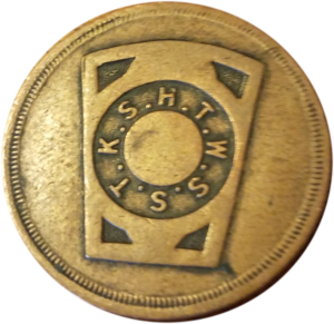 Chapter Coin - Click to see list of Grand Officers and other information